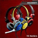 Headset WARWolf T4