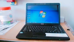 Laptop Toshiba C640 2nd Bekas