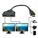 Kabel HDMI Splitter 2 port